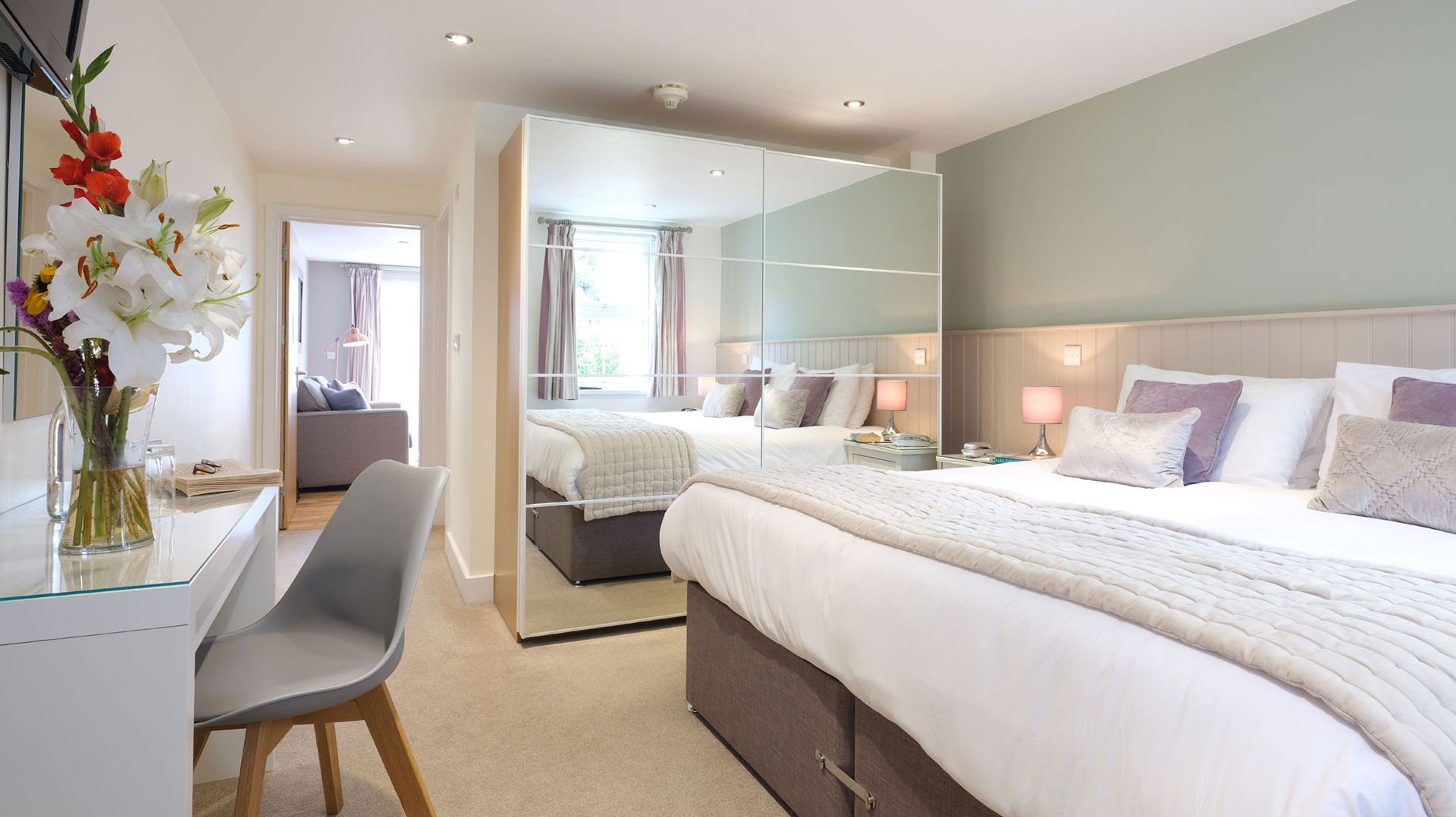 Suite at St Mary's Hall Hotel. Isles of Scilly