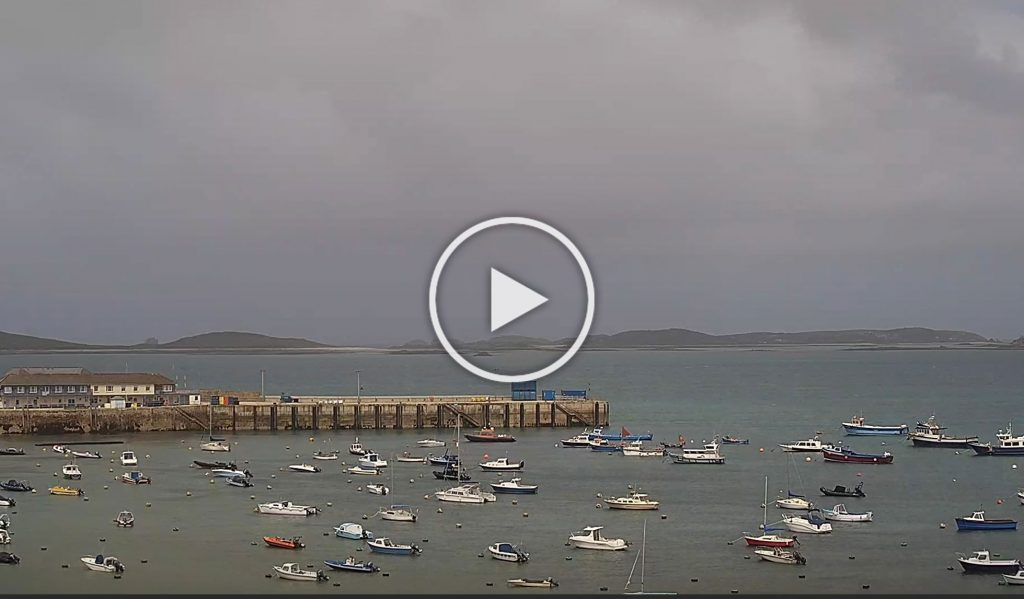 Webcam to Samson, Isles of Scilly